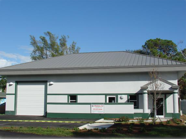 Image of Station 71 in the Iona-McGregor Fire District