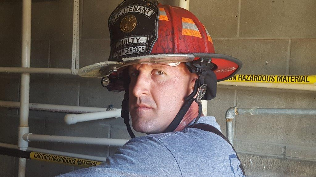 Lieutenant Firefighter for Iona McGregor Fire District - Quilty