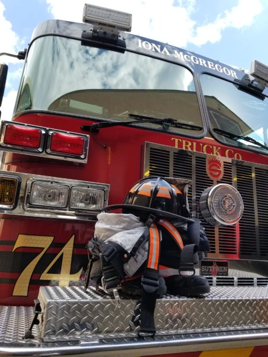 Iona McGregor Fire District Truck and Gear
