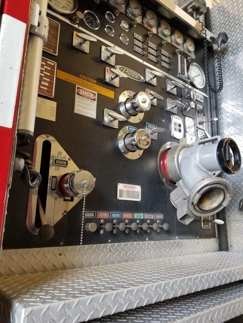 Iona McGregor Fire District Engine
