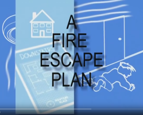 A Fire Escape Plan Image - Watch This Video!