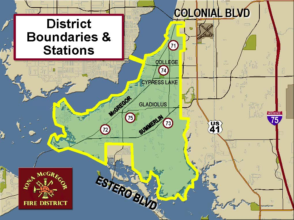 District Boundaries Map