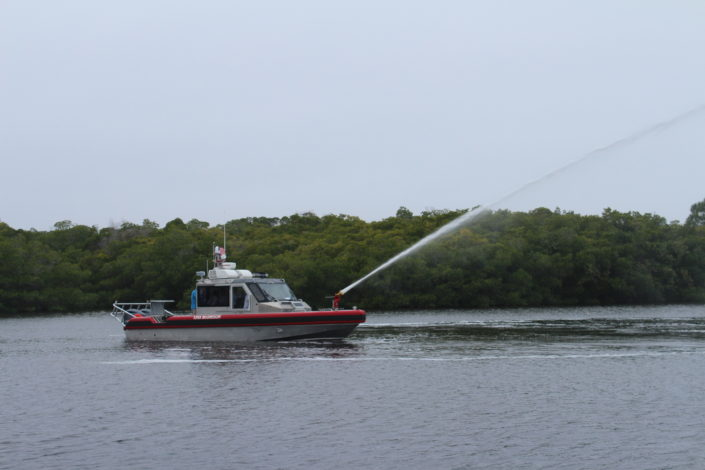 New Firefighting Boat