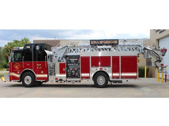 Fire Truck - Iona McGregor