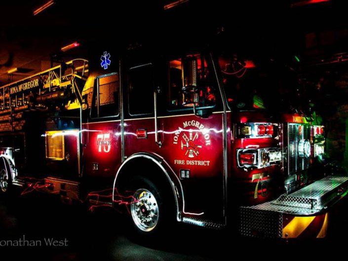 Iona McGregor Fire District Engine 75